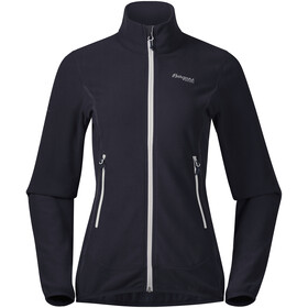 Bergans Lovund Fleece Jacket Dame dark navy/aluminium